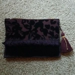Maroon Shirleah Clutch